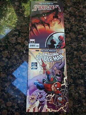 SPIDERMAN FCBD COMICS X2 (NM) marvel comics Donny Cates