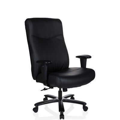 Executive Chair Backrest Armrest PU Leather up to 180kg XXL EVEREST hjh OFFICE