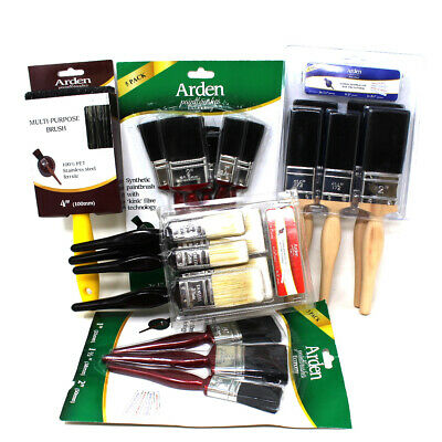 Paint Brushes Clearance Offer - 3 Pack 5 Pack - Pro Trade Economy Paintbrush