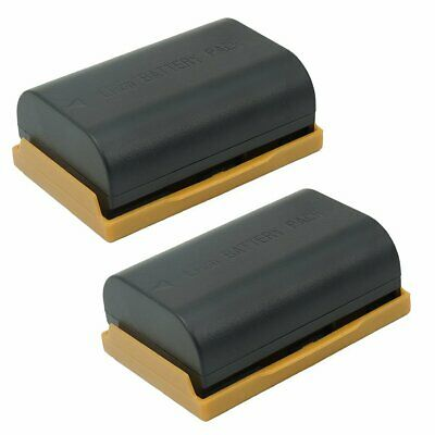 2 x LP-E6 BATTERIE Akku FÜR CANON LP-E6N EOS 70D 7D 6D 5DIV 80D 5DSr 5Ds May
