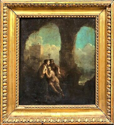 18th Century French Classical Old Master Nude Maidens Nymphs Hubert ROBERT