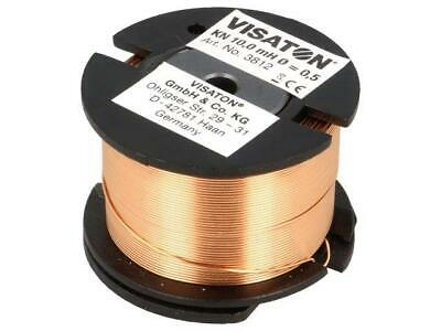 KN-10MH-VS Inductor coil 3.8 44mm H30mm 10mH Wire dia0.5mm 3812 VISATON