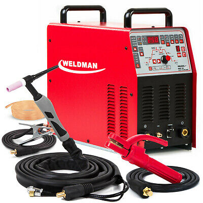 TIG Welder AC/DC Welding machine Pulse Inverter Weldman Bravo TIG 250 AMP NEW
