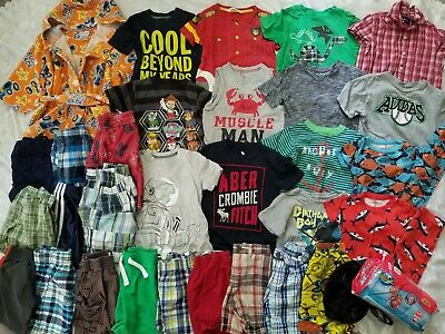 HUGE 35 pc. Lot of BOYS CLOTHES Spring/Summer Sz 3T ~ Great Brand Names!