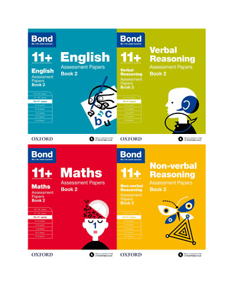 Bond 11+ English 4 Books Set Ages 10-11+ Inc Assessment and Tests Book 2