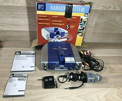 MTV Boxed Karaoke System Music Video Camera & Microphone + Instructions SMVG-608