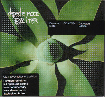 Depeche Mode - Exciter (SACD + DVD, Deluxe Edition) digipak collectors ed 5.1