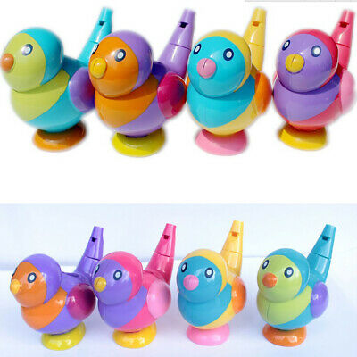 JT_ 2in1 Random Baby Toddlers Cute Bird Water Whistle Kids Children Bath Toy G