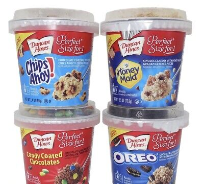 Duncan Hines ~ Perfect Size for 1 Cookie Cake Mix – Many Choices