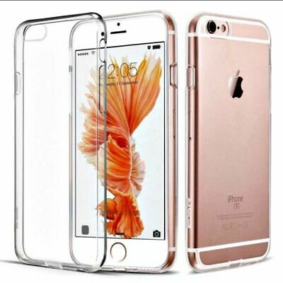 For iPhone 5/5S/SE Case Shock Proof Crystal Clear Soft Silicone Gel Bumper Cover
