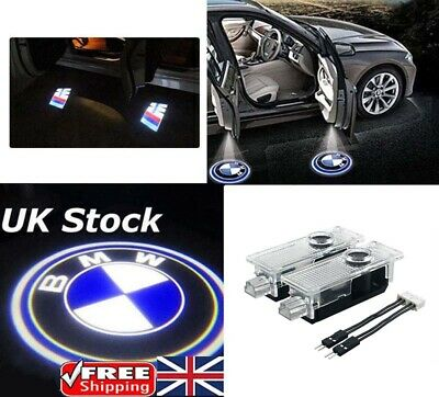 2X Cree LED Car Door Courtesy Laser Projector Logo Ghost Shadow BMW Light UK