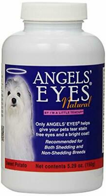 Angels' Eyes Natural Tear Stain Elimination and Remover, Sweet Potato Flavor, 22