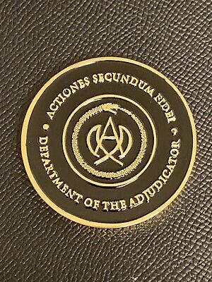 John Wick High Table Adjudicator Coin!! Highest Quality!