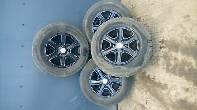 Ford Ranger Limited Double Cab 2012-2016 ALLOY WHEELS - SET 265/70 R17