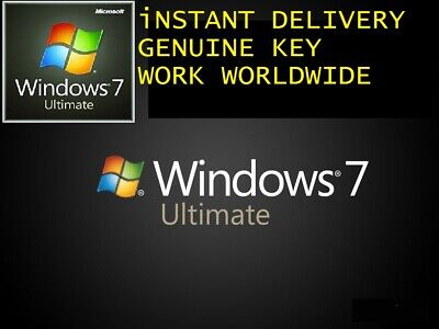 Windows 7 Ultimate Activation Key 100% Original 32/64 Bit With Download Link