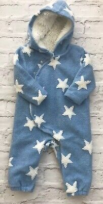 *NEXT* Star Blue Pram Suit Immaculate (12-18 months) Festival Camping