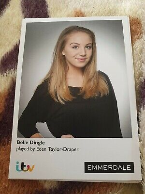 Emmerdale Belle Dingle Cast Card