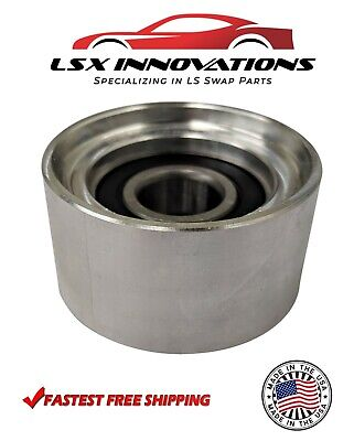 LS Billet Aluminum Smooth Idler Pulley 55MM LS1 LS2 LS3 LS6 5.3 6.0 6.2