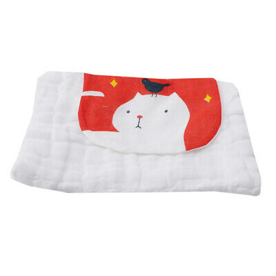 Child Baby Absorbent Towels Sweat Pad Sling Soft Children Cotton Towel LD