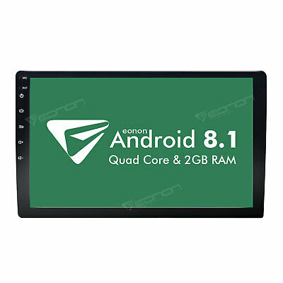 """10.1"""" HD Android 8.1 Double 2 Din Car GPS Stereo Radio Player Wifi No DVD 1080P"""
