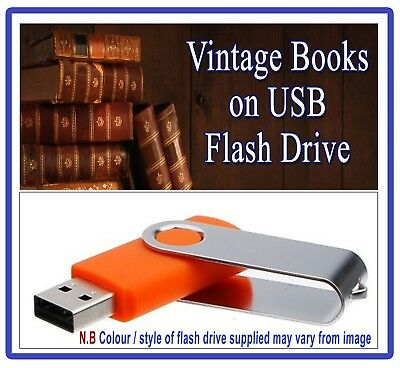 Vintage Architectural Technical Drawing Books on USB - Mechanical Design Art 273
