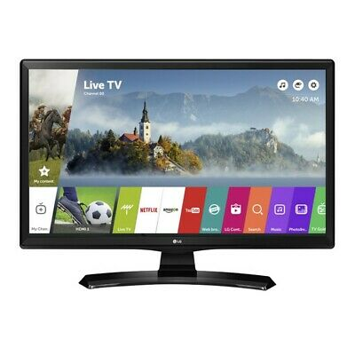 "LG 24 "" Smart TV Monitor HD Ready LED Television Wifi Sat Terrestrial 24MT49S-PZ"