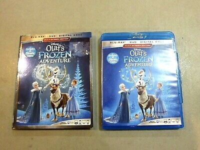 Olaf's Frozen Adventure - DVD ONLY- W/ SLIPCOVER - NO BLU RAY, NO DIGITAL