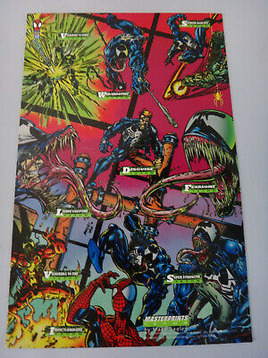 Marvel Cards 1994 Amazing Spider-Man Masterprints Venom - Mark Bagley - NEW