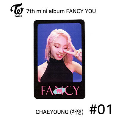 TWICE - 7th mini album FANCY YOU Official Photocard - CHAEYOUNG #01