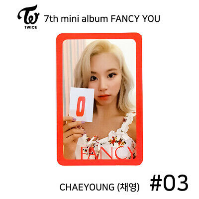 TWICE - 7th mini album FANCY YOU Official Photocard - CHAEYOUNG #03