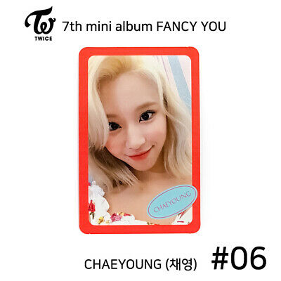 TWICE - 7th mini album FANCY YOU Official Photocard - CHAEYOUNG #06