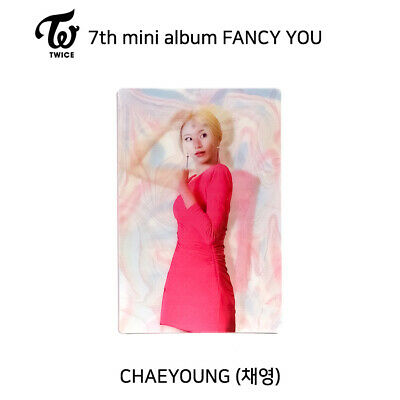 TWICE - 7th mini album FANCY YOU Official Lenticular Photocard - CHAEYOUNG