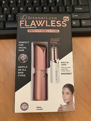 Pink - Finishing Touch Flawless Women Painless Hair Remover 2 - included Battery