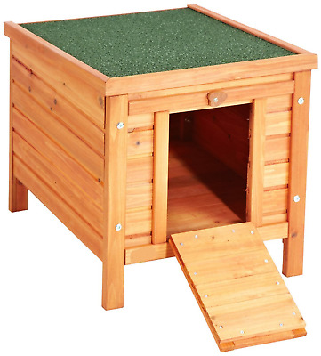Animal Cat Shelter Dog Kennel Rabbit Hutch Small Pet Bed House Outdoor Garden
