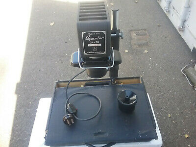 Vintage Rare Functional DURST REPORTER Enlarger 24x36 Made in Italy Darkroom