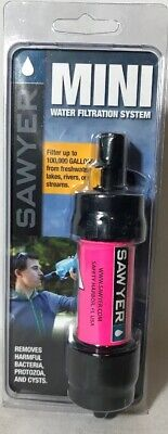 Sawyer Products SP128 MINI Water Filtration System Single Pink