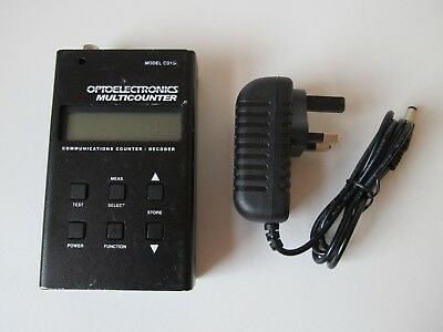 Optoelectronics CD100 Handheld Portable Frequency Counter and Tone Decoder