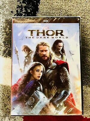 Thor: The Dark World (DVD, 2014 Widescreen) - Marvels Avengers Ship Same DAY!