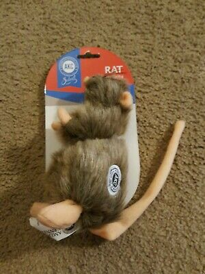 AKC American Kennel Club Select Plush Rat Mouse with Squeaker Dog Toy