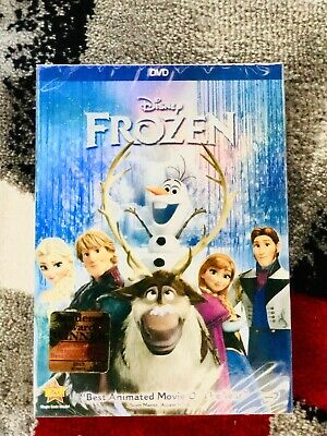 Frozen DVD Band New & Sealed comes with Slipcover SAME DAY SHIPPING