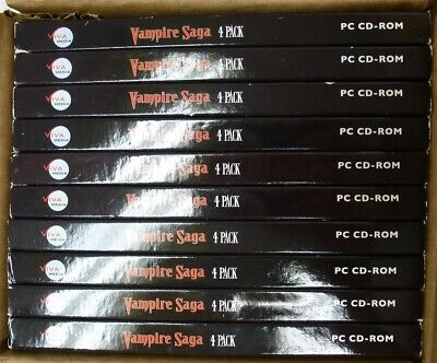 Video Game PC Lot of 10 Vampire Saga Pandoras Box 4pk Treasure Masters Curse NEW