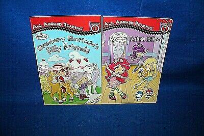 Lot Of 2 All Aboard Reading Strawberry Shortcake