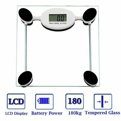 180KG Electronic Digital Body Fat Scale Scales Bathroom Monitor Tracker