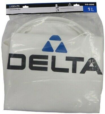 Delta Dust Collector Bag Collection 1 Micron Top for 50-786 50-760 Accessory New