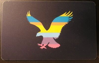 American Eagle Gift Card Vintage Collectible (YY)
