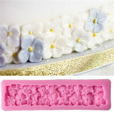 3D Four Leaf Flowers Silicone Cake Mold Fondant party Cake Decorating Tools