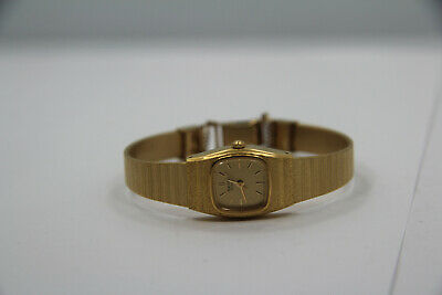 Vintage Rare Ladies SEIKO 7321-5759 Classic Quartz Gold Tone Watch New Battery