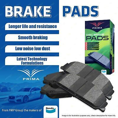 4 Front Brake Pads Maker Of Bendix For Mitsubishi Lancer CG CH CJ CY Jeep MK49
