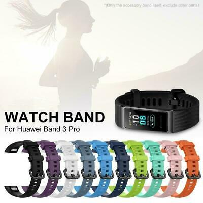 Silicone Sport Watch Wrist Band Bracelet Strap Belt For Huawei Band 3/3 Pro