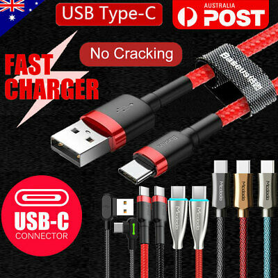 TYPE-C USB-C Data FAST CHARGING Charger Cable for Samsung S10 S9 S8 Plus Note 9